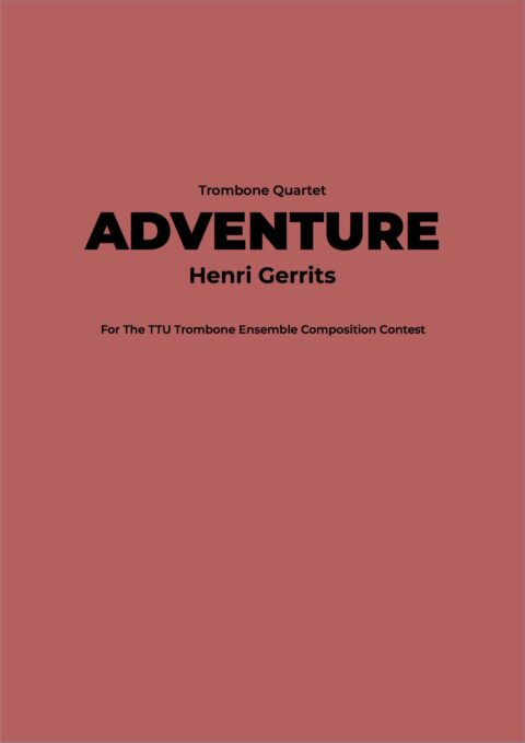 ADVENTURE - HENRI GERRITS COMPOSER