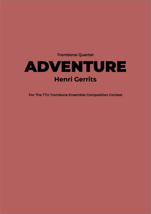 ADVENTURE - HENRI GERRITS COMPOSER
