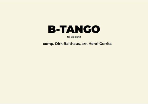 B-TANGO - HENRI GERRITS COMPOSER