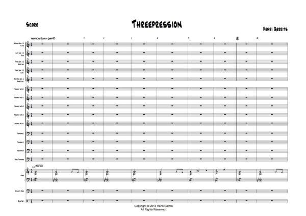 THREEPRESSION - P2 - HENRI GERRITS COMPOSER
