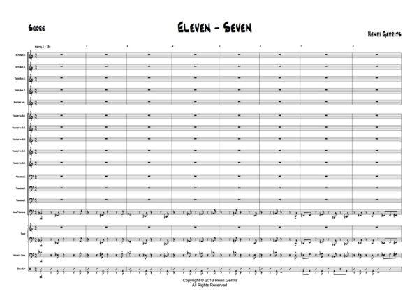 ELEVEN SEVEN - P2 - HENRI GERRITS COMPOSER