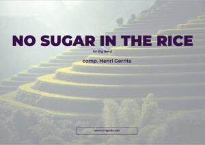 NO SUGAR IN THE RICE - P1 FRONT - HENRI GERRITS COMPOSER
